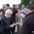 Візит Володимира Литвина до Харківської області