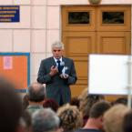 18 червня 2009 року Голова Верховної Ради України, Голова Народної Партії Володимир Литвин відвідав Донецьку область з робочим візитом