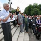Робоча поїздка Голови Верховної Ради України В. Литвина до Луганської області
