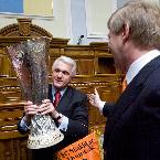 Зустріч В.М. Литвина з володарями кубку УЄФА ФК Шахтар 26.05.2009