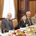 Зустріч В.М. Литвина з ветеранами Великої Вітчизняної війни та Героями Радянського Союзу