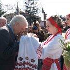 Візит Володимира Литвина до Чернігівської області 09.04.2009 року
