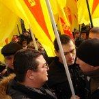 Протест киян проти політики мера Київа Л.М. Черновецького 26.02.2009 року