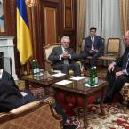 Робочі зустрічі Голови Верховної Ради України В.М. Литвина