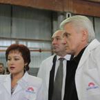 Візит Володимира Литвина  у Чернігівську область