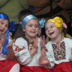 Візит Володимира Литвина до дитячих будинків Житомирщини 20 січня 2009 року