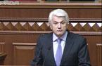 Володимир Литвин на пленарному засіданні Верховної Ради